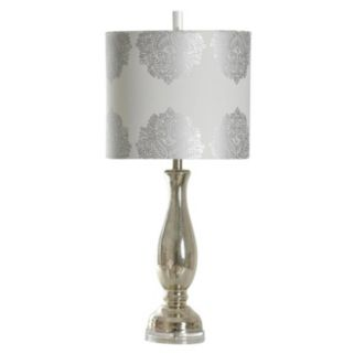 StyleCraft North Bay Mercury Glass Table Lamp