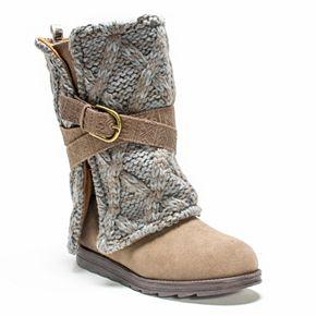 MUK LUKS Nikki Women's Belted Boots