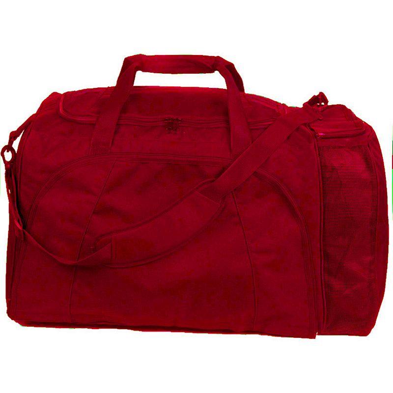 Champion Sports Football Equipment Bag, Red