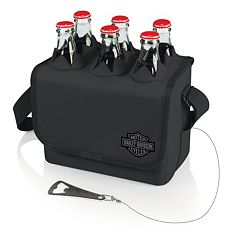 Picnic Time Harley-Davidson Six-Porter Insulated Beverage Tote