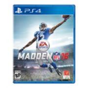 Madden NFL 16 for PlayStation 4