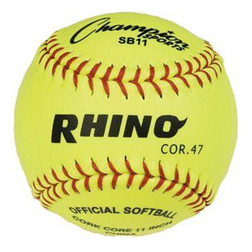 Champion Sports 12-pk. 11-in. Syntex Leather Softball