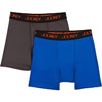 Boys Jockey 2-Pack Performance Sport Boxer Briefs