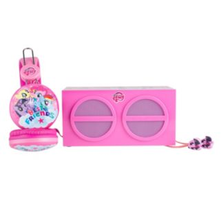 My Little Pony 3-Piece Stereo Speaker & Headphone Set by Sakar