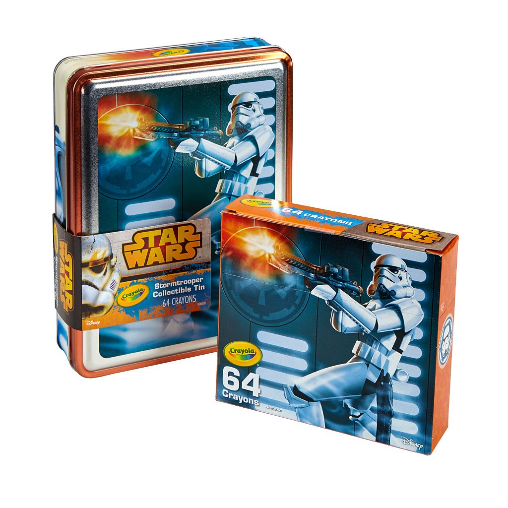 Star Wars 64-pc. Stormtrooper Crayons Collectible Tin by Crayola