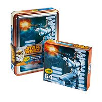 Star Wars 64 pc Stormtrooper Crayons Collectible Tin by Crayola