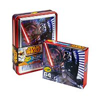 Star Wars 64 pc Darth Vader Crayons Collectible Tin by Crayola