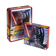 Star Wars 64-pc. Darth Vader Crayons Collectible Tin by Crayola