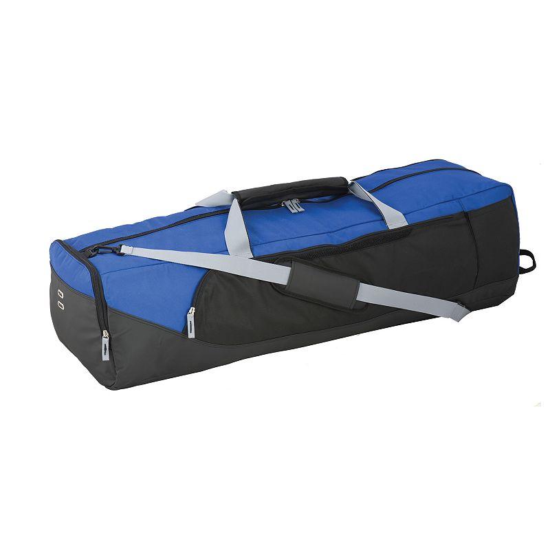 Champion Sports Lacrosse Equipment Bag, Blue