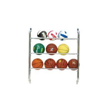 Champion Sports Wall Ball Rack