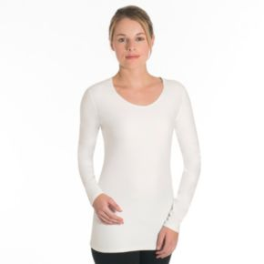Women's Snow Angel Doeskin Scoopneck Base Layer Top