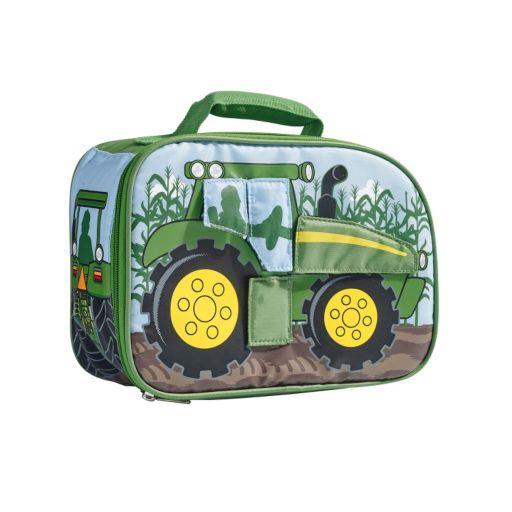 John Deere Peek-A-Boo Flap Tractor Lunch Bag - Kids