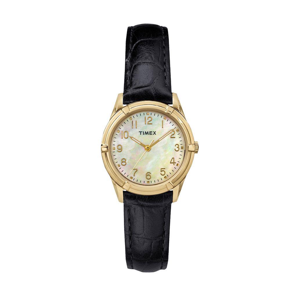 Timex Women's Main Street Easton Avenue Leather Watch - TW2P76200JT
