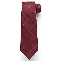 Men's Marc Anthony Subtle Plaid Tie