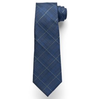 Marc Anthony Subtle Plaid Tie - Men