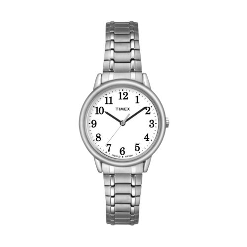 Timex Women's Easy Reader Stainless Steel Expansion Watch