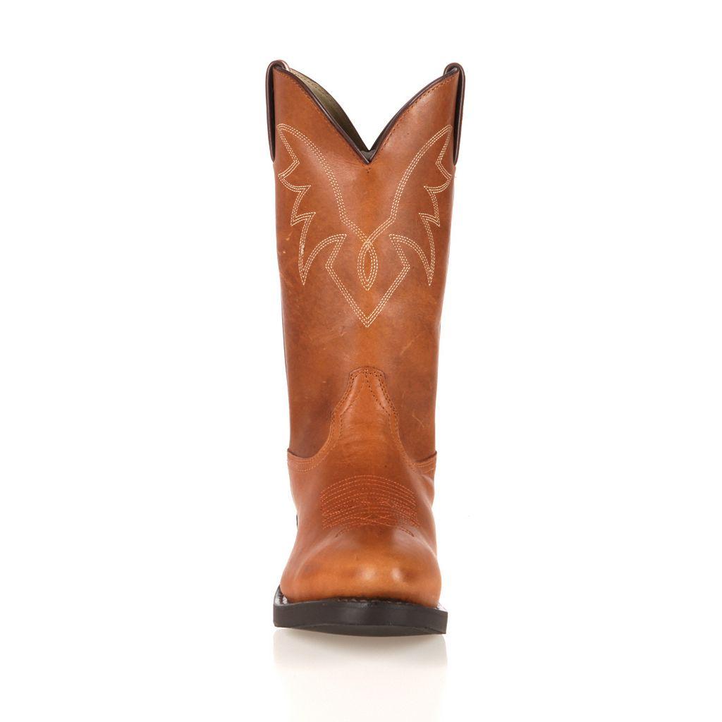 Durango Oiled Men's 11-in. Cowboy Boots