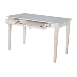 International Concepts Keyboard Drawer Computer Desk