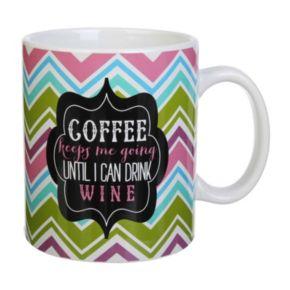 """18-oz. """"Coffee Keeps Me Going"""" Mug"""