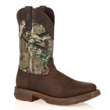Durango Workin' Rebel Mossy Oak Men's 11-in. Western Boots
