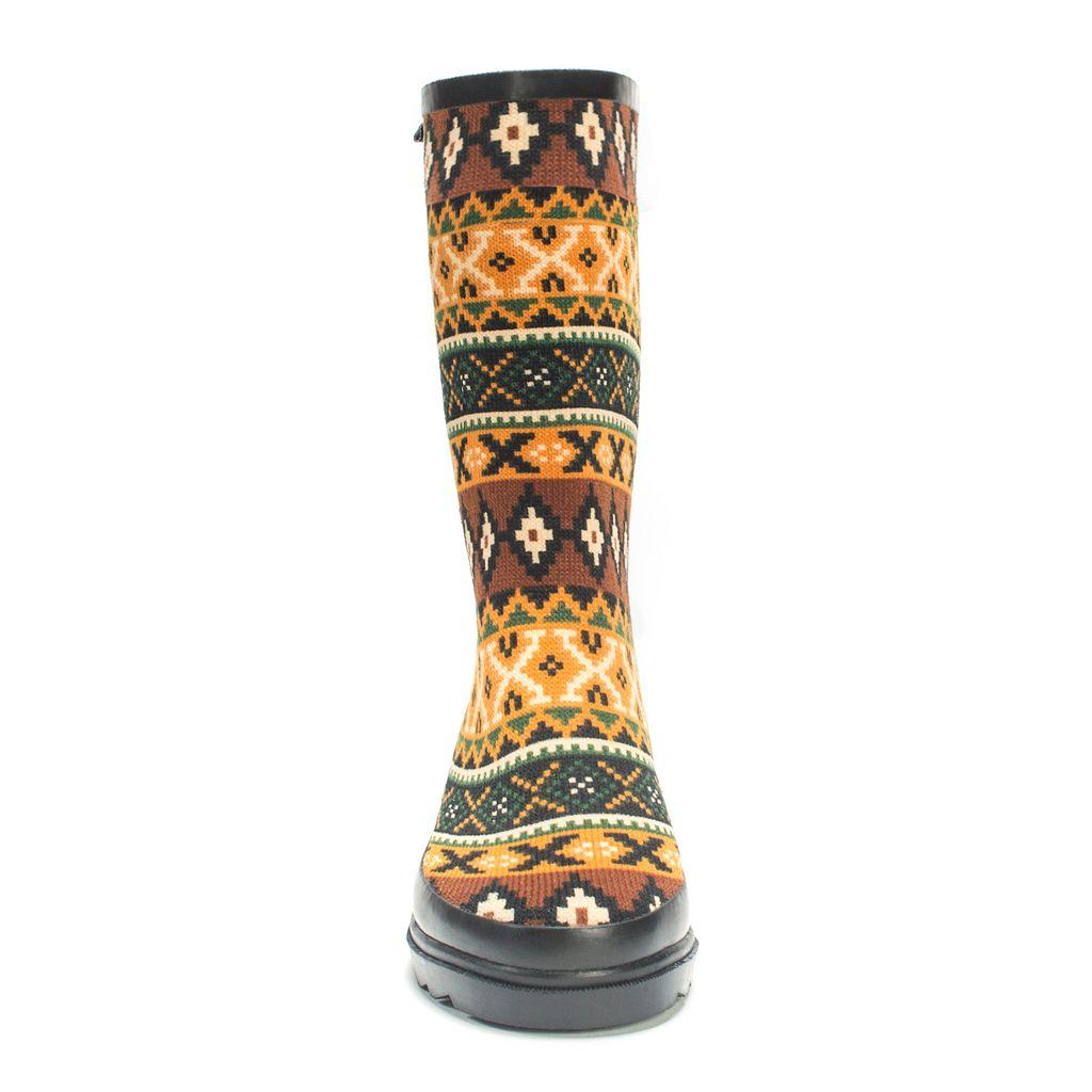 MUK LUKS Anabelle Women's Knee-High Rain Boots