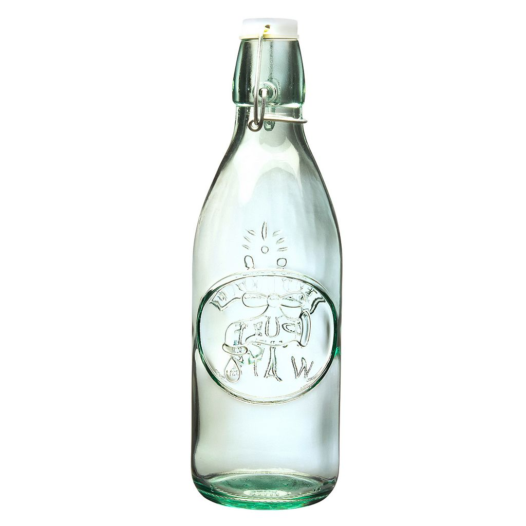 Global Amici Water Tap 2-pc. Glass Bottle Set