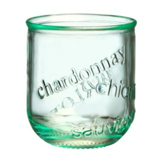 Global Amici Vino 4-pc. Stemless Wine Glass Set