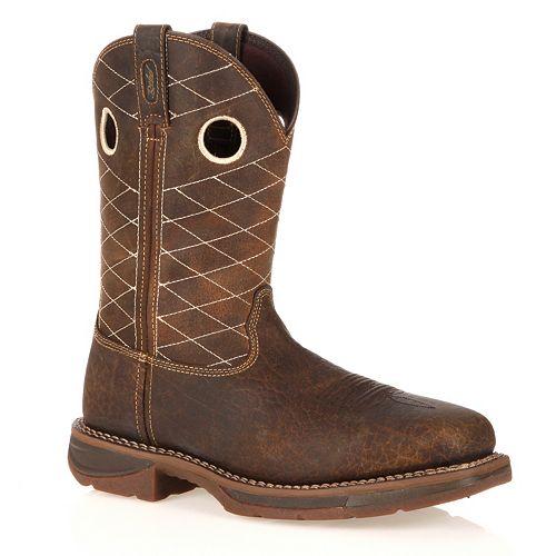 Durango Workin' Rebel Men's 11-in. Composite-Toe Western Work Boots