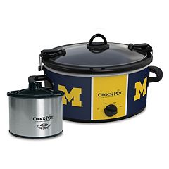Crock-Pot Cook & Carry Michigan Wolverines 6-Quart Slow Cooker Set