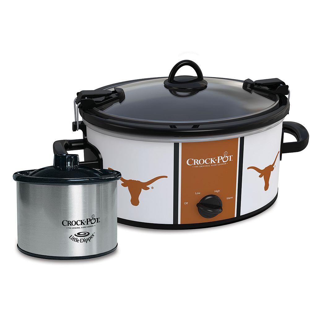 Crock-Pot Cook & Carry Texas Longhorns 6-Quart Slow Cooker Set