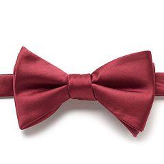 Bow Tie Tuesday Solid Satin Pre-Tied Bow Tie - Men