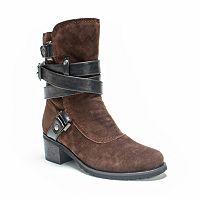 MUK LUKS Sabra Women's Ankle Boots