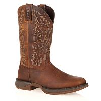 Durango Rebel Men's 11-in. Steel-Toe Western Boots