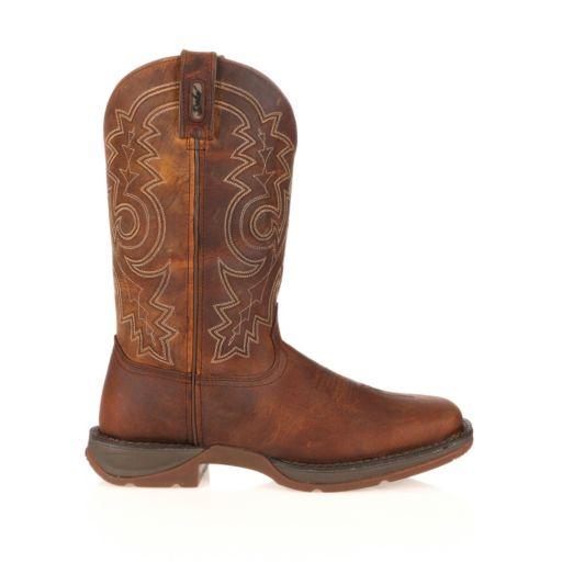 Durango Rebel Men's 11-in. Steel-Toe Western Boots