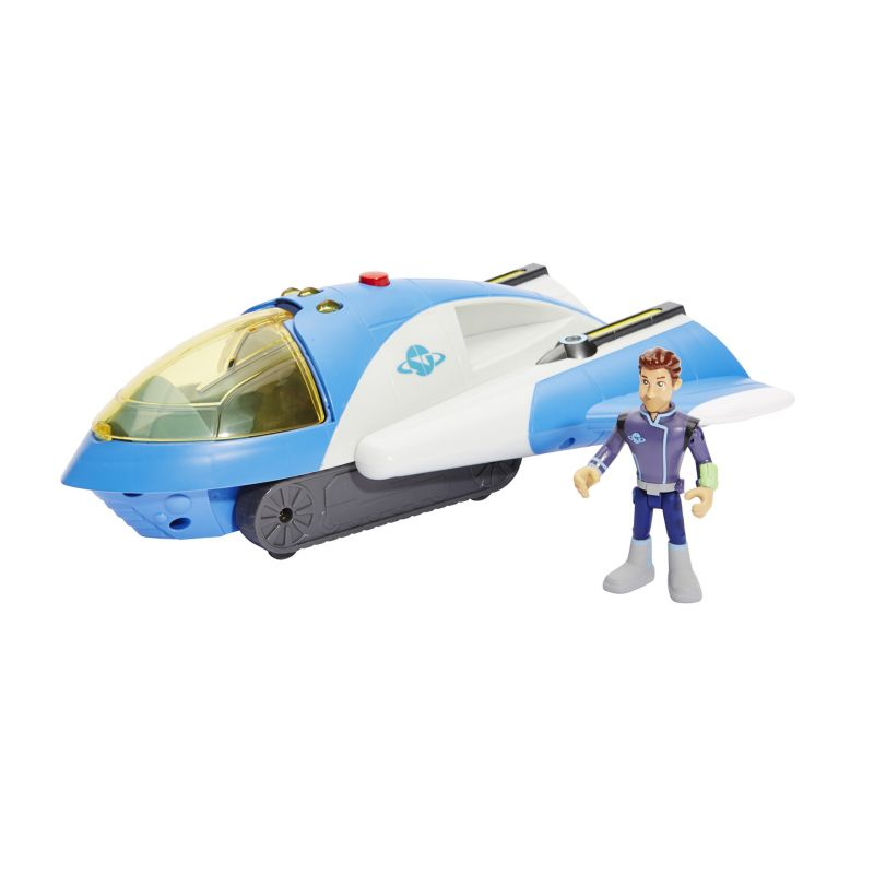 Miles From Tomorrowland 3 Action Figure Vehicle SpaceGuard Cruiser 99823458