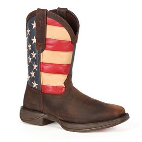 Durango Rebel American Flag Men's 11-in. Western Boots