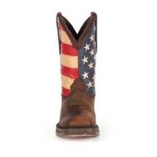 Durango Rebel American Flag Men's 11-in. Western Boots