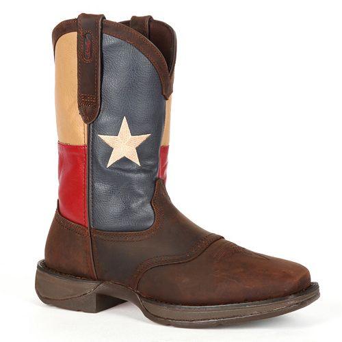 Durango Rebel Texas Flag Men's 11-in. Western Boots