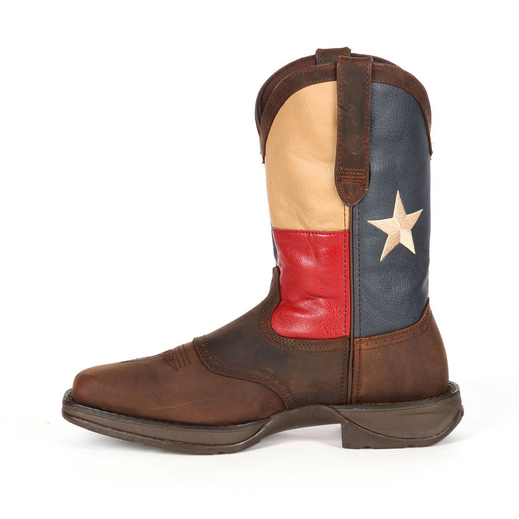 Durango Rebel Texas Flag Men's 11-in. Western Boots