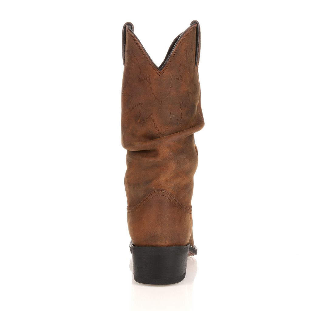 Durango Slouch Gambler Men's 12-in. Western Boots