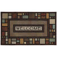 Mohawk® Home Silvia Block Welcome Doormat