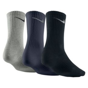 Men's Nike 3-pack Lightweight Crew Socks