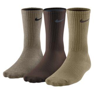 Men's Nike 3-pack Lightweight Crew Socks