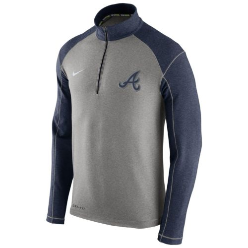 Men's Nike Atlanta Braves Dri-FIT Performance Pullover