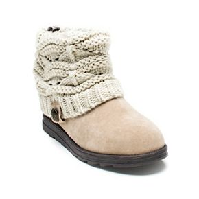MUK LUKS Patti Women's Cable ... Knit Cuff Boots buy cheap pick a best best place cheap price free shipping genuine XWVjcL62