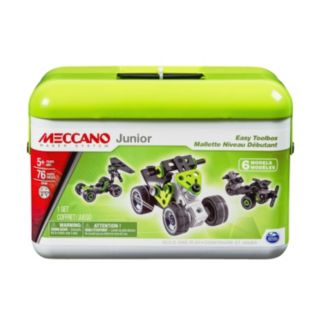 Meccano Junior Easy Toolbox Set