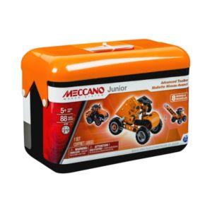 Meccano Junior Advanced Toolbox Set