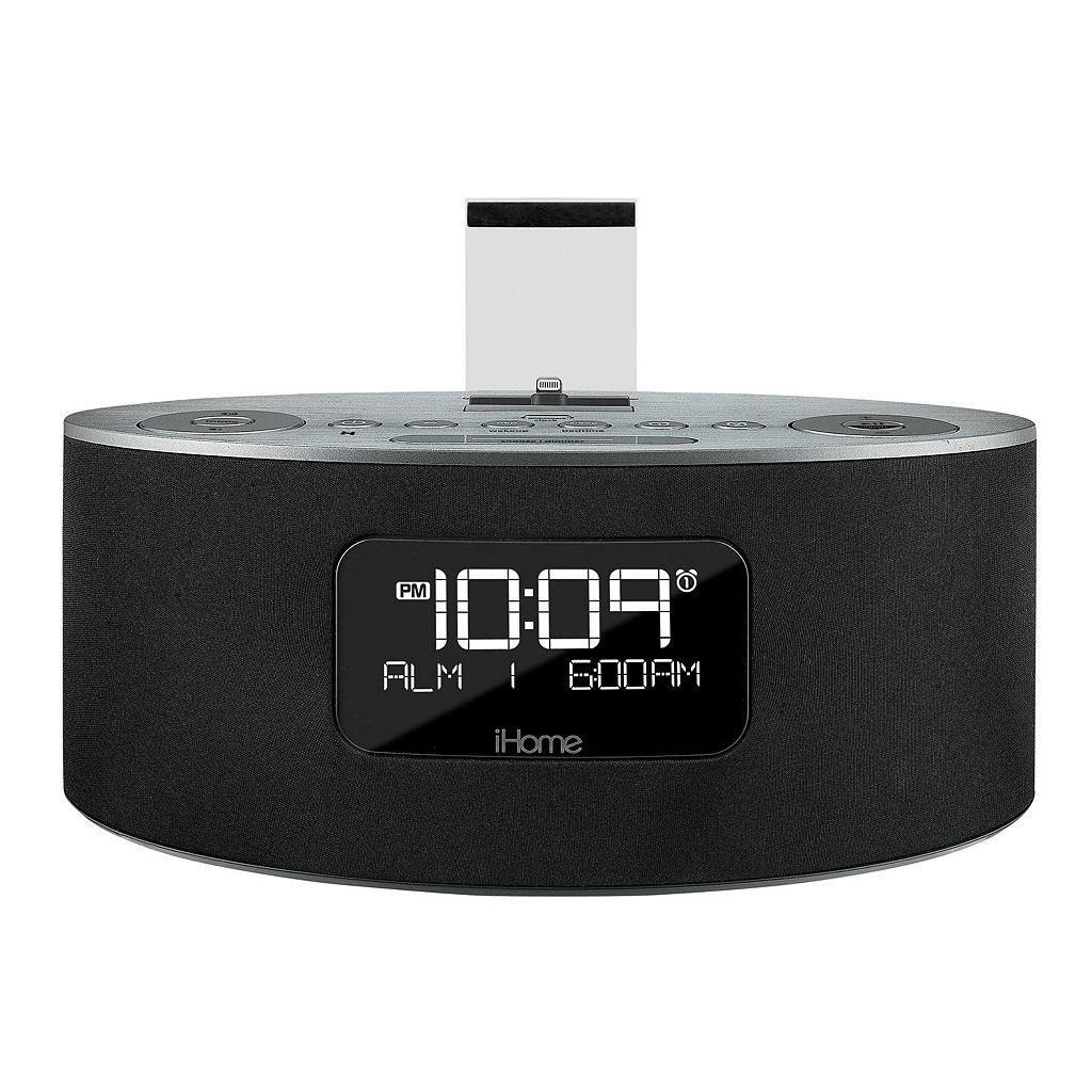 iHome iDL46 Dual-Charging iPad / iPhone / iPod FM Stereo Alarm Clock Radio