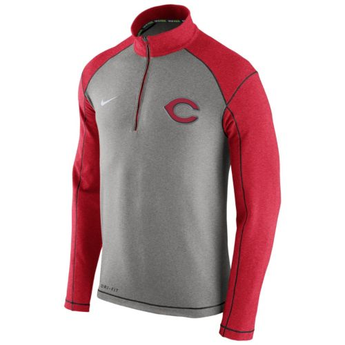 Men's Nike Cincinnati Reds Dri-FIT Performance Pullover