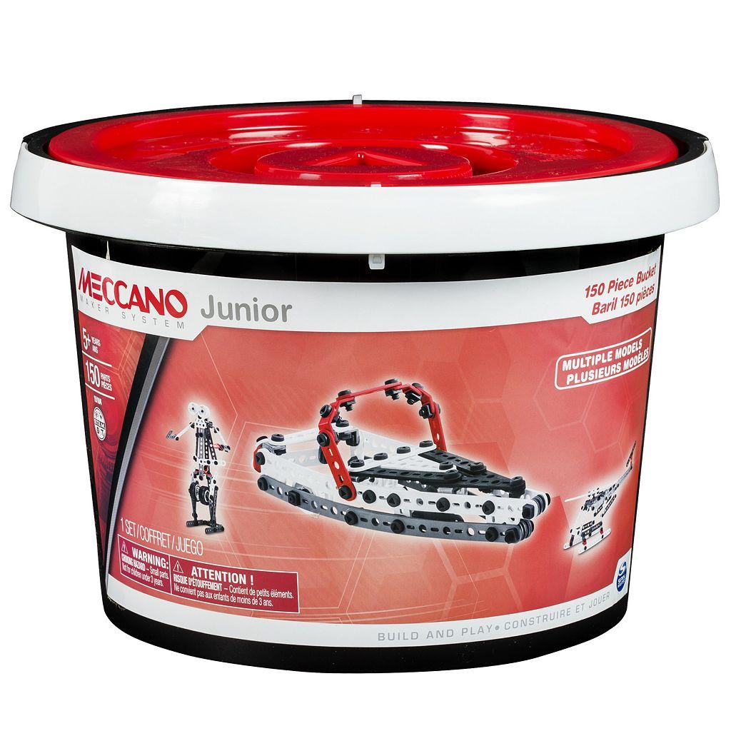 Meccano Junior 150 Piece Bucket